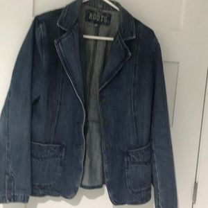 Roots fitted jean jacket